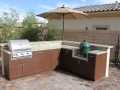 Completed Kitchen Crashers Outdoor Kitchen