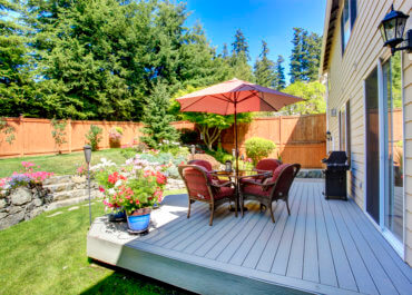Finding your backyard's focal point